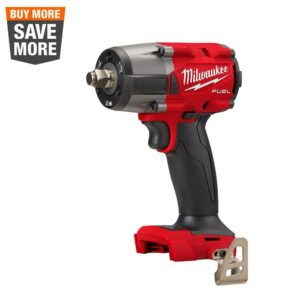 Milwaukee M18 FUEL Gen-2 18-Volt Lithium-Ion Brushless Cordless Mid Torque 1/2 in. Impact Wrench w/Friction Ring (Tool-Only)