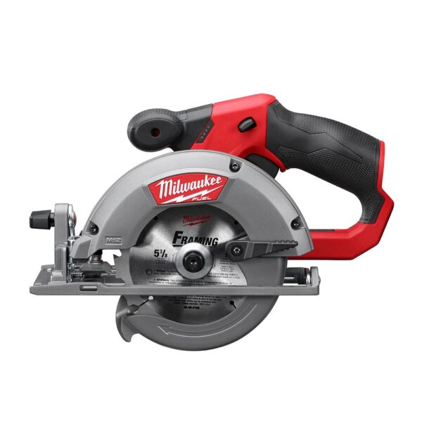 Milwaukee M12 12-Volt Lithium-Ion Cordless Jig Saw and 5-3/8 in. Circular Saw Combo Kit W/ (1) 2.0Ah Battery and Charger