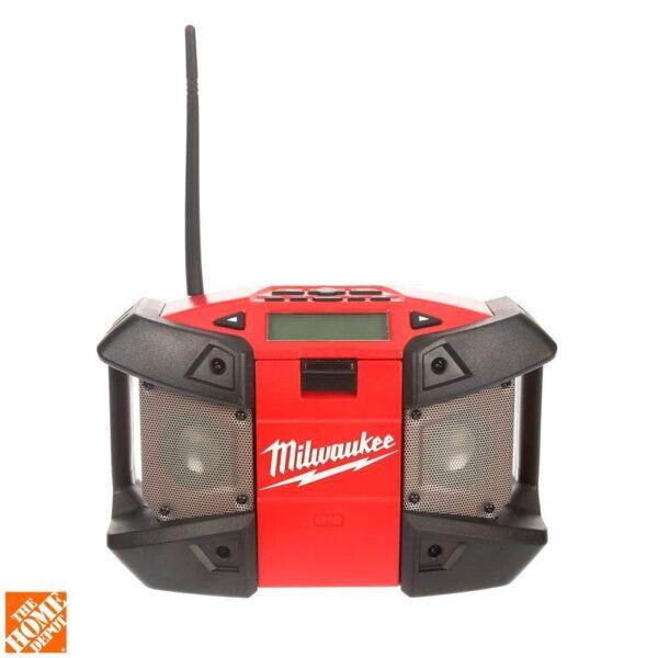 Milwaukee M12 12-Volt Lithium-Ion Cordless Job-Site Radio (Tool-Only)