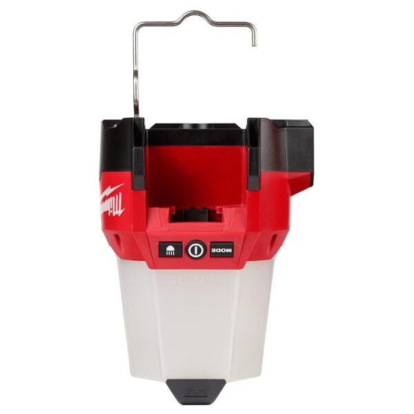 Milwaukee M18 18-Volt 2200 Lumens Cordless Radius LED Compact Site Light with Flood Mode (Tool-Only)