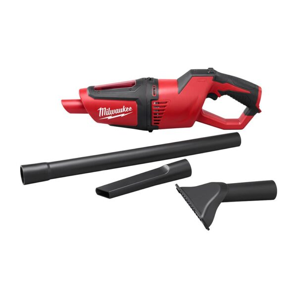 Milwaukee M12 12-Volt Lithium-Ion Cordless 750 Lumens TRUEVIEW LED Spotlight with M12 Compact Vacuum and 3.0 Ah Battery
