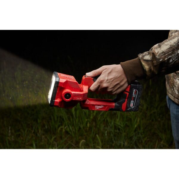 Milwaukee M18 18-Volt Lithium-Ion Cordless Search Light Kit W/(1) 5.0Ah Batteries, Charger