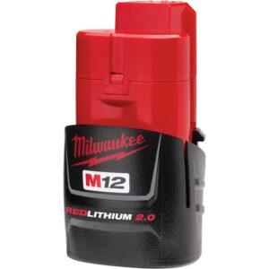 Milwaukee M12 12-Volt Lithium-Ion Cordless LED High Performance Flashlight with M12 2.0Ah Battery