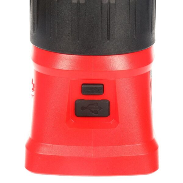 Milwaukee M18 18-Volt Lithium-Ion Cordless 700-Lumen LED Lantern/Flood Light (Tool-Only)