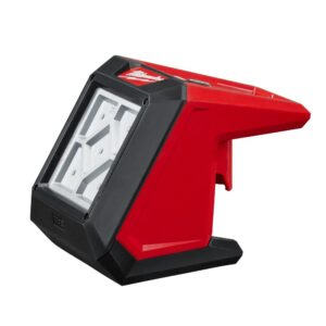 Milwaukee M12 12-Volt Lithium-Ion Cordless 1000 Lumens ROVER LED Compact Flood Light with M12 Jobsite Speaker and 3.0 Ah Battery