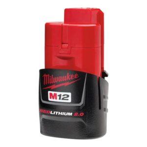 Milwaukee M12 12-Volt Lithium-Ion Cordless Starter Kit with M12 12-Volt Lithium-Ion Cordless LED Spotlight