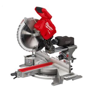Milwaukee M18 FUEL 18-Volt Lithium-Ion Brushless 12 in. Cordless Dual Bevel Sliding Compound Miter Saw with Jig Saw