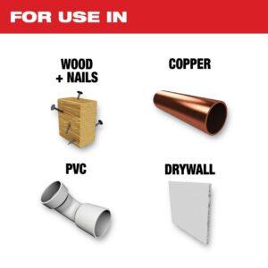 Milwaukee 2-1/2 in. Titanium Bi-Metal Universal Fit Wood and Metal Cutting Oscillating Multi-Tool Blade (1-Pack)