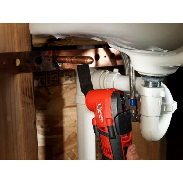 Milwaukee M18 18-Volt Lithium-Ion Cordless Oscillating Multi-Tool (Tool-Only)