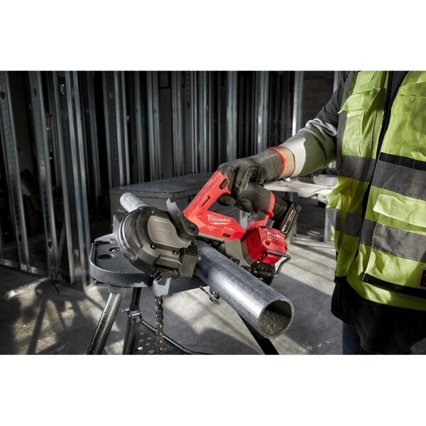 Milwaukee M12 FUEL 12-Volt Lithium-Ion Cordless Sub-Compact Band Saw (Tool-Only)