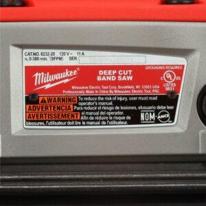 Milwaukee 11 Amp Deep Cut Variable Speed Band Saw