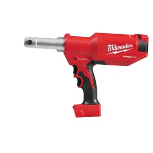 Milwaukee M18 18-Volt Lithium-Ion Cordless FORCE LOGIC 6-Ton Pistol Utility Crimping (Tool-Only)