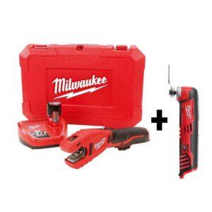 Milwaukee M12 12-Volt Lithium-Ion Cordless Copper Tubing Cutter Kit W/ Free M12 Multi-Tool