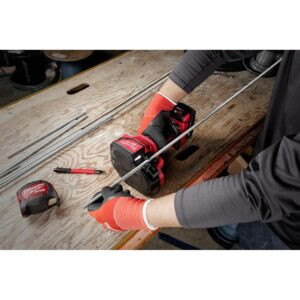 Milwaukee M18 18-Volt Lithium-Ion Cordless Brushless Threaded Rod Cutter Kit with 2.0 Ah Battery, Charger and Case