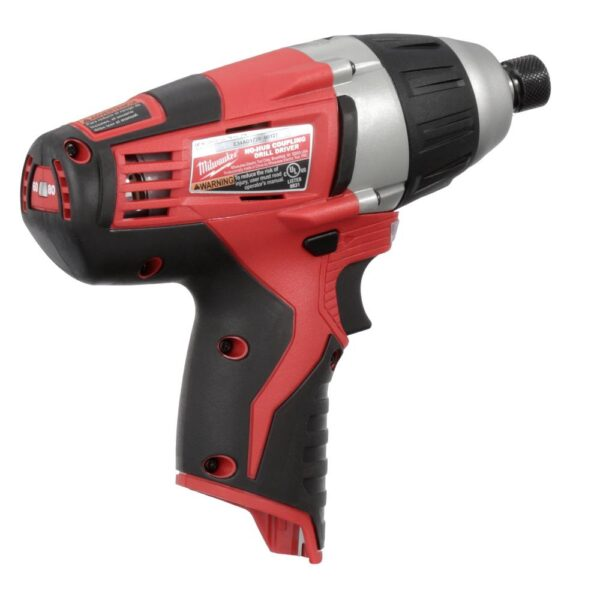 Milwaukee M12 12-Volt Lithium-Ion Cordless 1/4 in. No-Hub Coupling Driver (Tool-Only)