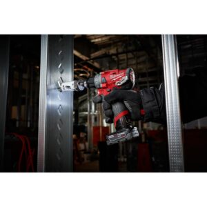 Milwaukee M12 FUEL 12-Volt Lithium-Ion Brushless Cordless 1/2 in. Drill Driver (Tool-Only)