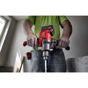 Milwaukee M18 FUEL 18-Volt Lithium-Ion Brushless Cordless 1/2 in. Mud Mixer (Tool-Only)
