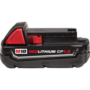 Milwaukee M18 18-Volt Lithium-Ion Compact Battery Pack 1.5Ah