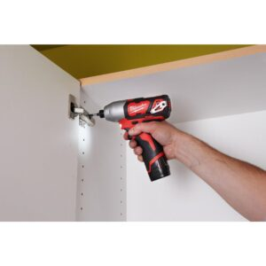 Milwaukee M12 12-Volt Lithium-Ion Cordless Combo Tool Kit (3-Tool) with M12 Right Angle Drill