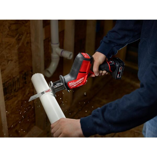 Milwaukee M12 FUEL 12-Volt Lithium-Ion Brushless Cordless HACKZALL Reciprocating Saw Kit W/ Free M12 Multi-Tool