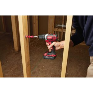 Milwaukee M18 18-Volt Lithium-Ion Cordless Combo Kit (6-Tool) with 2 M18 Batteries, 1 Charger, 1 Tool Bag