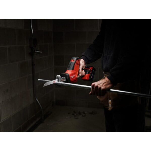 Milwaukee M18 18-Volt Lithium-Ion Cordless Combo Tool Kit (4-Tool) w/ 2 Additional 5.0Ah Batteries