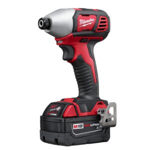 Milwaukee M18 18-Volt Lithium-Ion Cordless Combo Tool Kit (6-Tool) w/ 3/8 in. Impact Wrench and Additional 5.0 Ah Battery