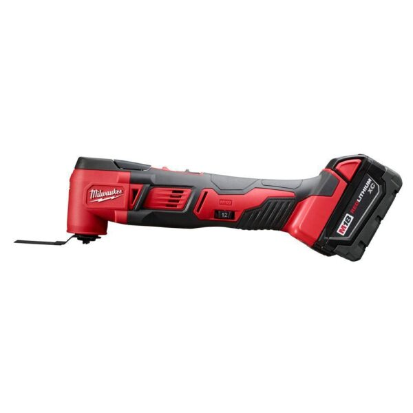 Milwaukee M18 18-Volt Lithium-Ion Cordless Combo Kit (6-Tool) with Two Batteries, Charger and Tool Bag