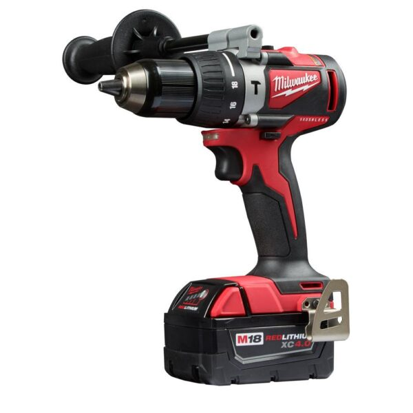 Milwaukee M18 18-Volt Lithium-Ion Brushless Cordless Hammer Drill/Impact/Circular Saw Combo Kit (3-Tool) with 2-Batteries