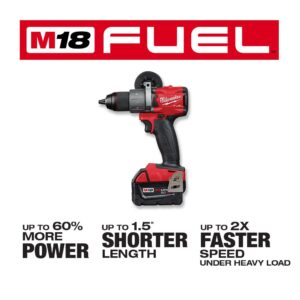 Milwaukee M18 FUEL 18-Volt Lithium-Ion Brushless Cordless Hammer Drill/HACKZALL/ Impact Driver Combo Kit (3-Tool) 4-Batteries