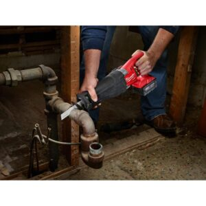 Milwaukee M18 FUEL 18-Volt Lithium-Ion Brushless Cordless Combo Kit (5-Tool) with M18 FUEL 1/2 in. Impact Wrench