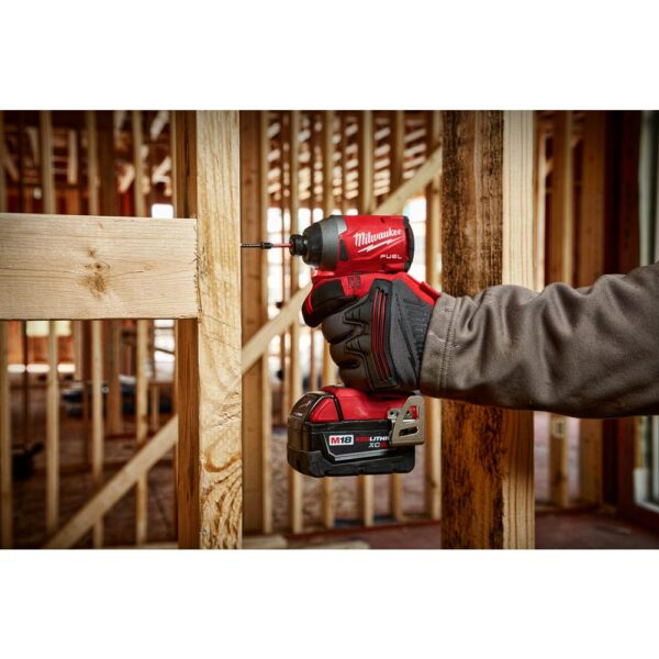 Milwaukee M18 FUEL 18-Volt Lithium-Ion Brushless Cordless Combo Kit (5-Tool) with M18 FUEL Grinder with Paddle Switch