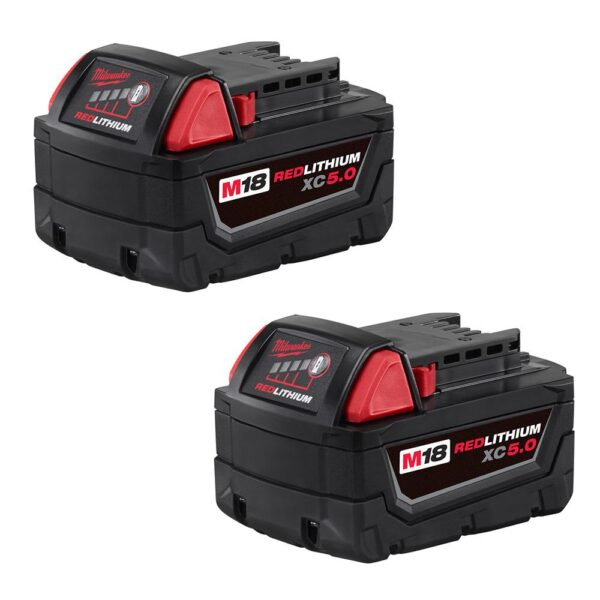 Milwaukee M18 FUEL 18-Volt Lithium-Ion Brushless Cordless Combo Kit (7-Tool) with Two M18 5.0 Ah Batteries