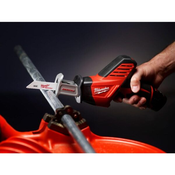 Milwaukee M12 12-Volt Lithium-Ion HACKZALL Cordless Reciprocating Saw Kit with (1) 1.5Ah Batteries, Charger & Tool Bag