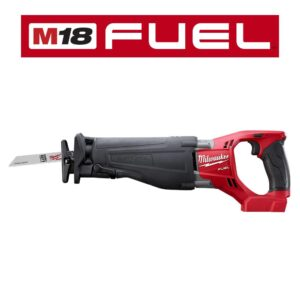 Milwaukee M18 FUEL 18-Volt Lithium-Ion Brushless Cordless SAWZALL Reciprocating Saw (Tool-Only)