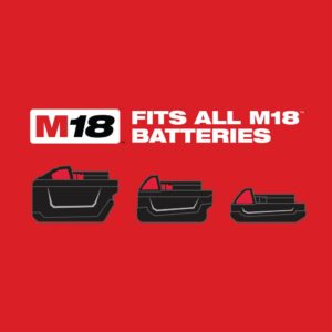 Milwaukee M18 18-Volt Lithium-Ion Cordless 3/8 in. 2-Speed Right Angle Impact Wrench Kit W/(1) 1.5Ah Batteries, Charger, Hard Case