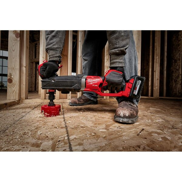 Milwaukee M18 FUEL 18-Volt Lithium-Ion Brushless Cordless GEN 2 SUPER HAWG 7/16 in. Right Angle Drill QUIK-LOK Kit