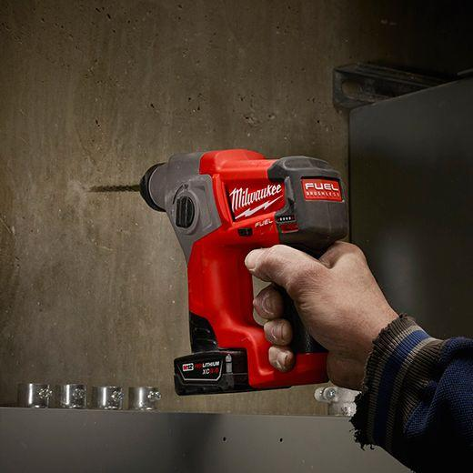 Milwaukee M12 FUEL 12-Volt Lithium-Ion 5/8 in. Brushless Cordless SDS-Plus Rotary Hammer (Tool-Only)