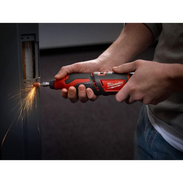 Milwaukee M12 12-Volt Lithium-Ion Cordless Rotary Tool (Tool-Only)