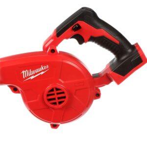 Milwaukee M18 18-Volt Lithium-Ion Cordless Compact Blower with INKZALL Black Fine Point Jobsite Marker