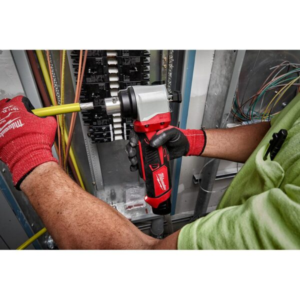 Milwaukee M12 12-Volt Lithium-Ion Cordless Cable Stripper Kit for Cu RHW/RHH/USE Wire