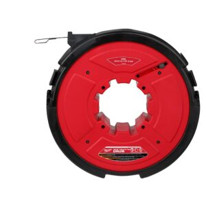 Milwaukee M18 Fuel Angler 120 ft. x 1/8 in. Steel Pulling Fish Tape Drum