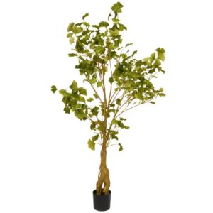National Tree Company 4.20 ft. Ginkgo Potted Tree