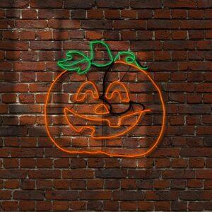 National Tree Company 24 in. Orange LED Pumpkin Strip