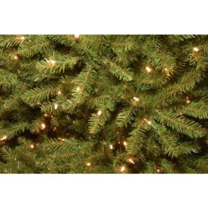 National Tree Company 9 ft. Dunhill Fir Artificial Christmas Tree with Dual Color LED Lights