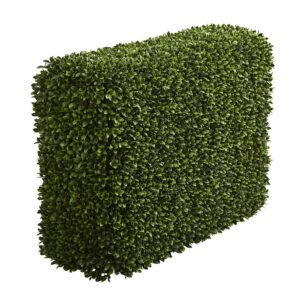 Nearly Natural Indoor/Outdoor 41 in. Boxwood Artificial Hedge