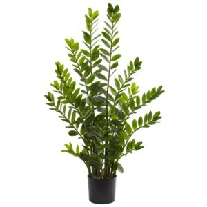 Nearly Natural Indoor 4 ft. Zamioculcas Artificial Plant