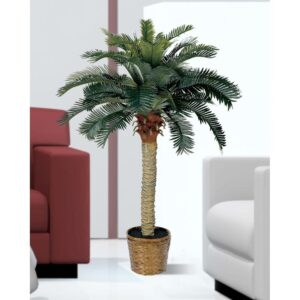 Nearly Natural 4 ft. Sago Palm Silk Tree