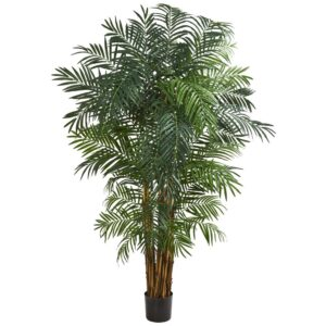 Nearly Natural 7 ft. Areca Palm Artificial Tree