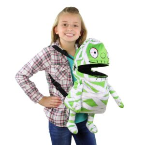 Northlight 20 in. Musical Animated Mummy Children's Halloween Trick or Treat Bag
